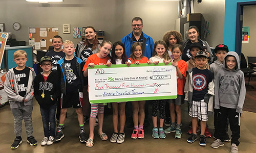 Boys and Girls Club Airdrie Donate Home